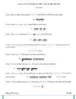200 bài toán bất đẳng thức từ các đề thi thử