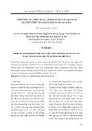 Ảnh hưởng của nhiệt độ và axit hoạt hóa tới khả năng hấp phụ nitrit của quặng pyrolusit Cao Bằng