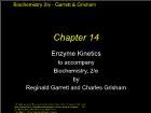 Bài giảng Biochemistry 2/e - Chapter 14: Enzyme Kinetics