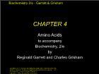 Bài giảng Biochemistry 2/e - Chapter 4: Amino Acids