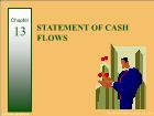 Bài giảng Financial & Managerial Accounting - Chapter 13: Statement of cash flows