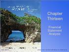 Bài giảng Fundamental Financial Accounting Concepts - Chapter 13: Financial Statement Analysis