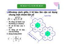 Bài giảng Hệ thống viễn thông - Chương 2: Mạng di động (P2)