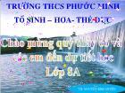 Bài giảng Hóa học 8 Bài 14: Bài thực hành 3 dấu hiệu của hiện tượng và phản ứng hóa học