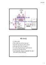 Bài giảng Quản lý dự án xây dựng - Chương 1: Các khái niệm về quản lý dự án