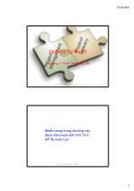 Bài giảng Quản lý dự án xây dựng - Chương 2: Hình thành dự án