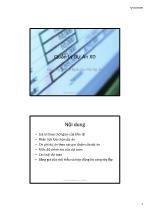 Bài giảng Quản lý dự án xây dựng - Chương 3: Xác định chi phí dự án