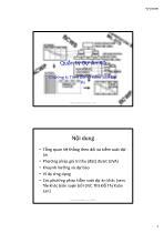 Bài giảng Quản lý dự án xây dựng - Chương 6: theo dõi và kiểm soát dự án