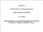 Bài giảng Thermodynamics: An Engineering Approach, 8th edition - Chapter 6: The Second Law of Thermodynamics