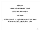 Bài giảng Thermodynamics: An Engineering Approach, 8th edition - Chapter 4: Energy Analysis of Closed Systems