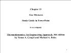 Bài giảng Thermodynamics: An Engineering Approach, 8th edition - Chapter 13: Gas Mixtures