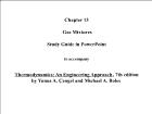 Bài giảng Thermodynamics: An Engineering Approach - Chapter 13: Gas Mixtures