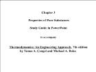 Bài giảng Thermodynamics: An Engineering Approach - Chapter 3: Properties of Pure Substances