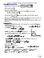 Bài tập: Công Suất tiêu thụ của đoạn mạch điện xoay chiều