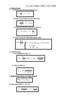 Công thức và bài tập Hóa học 12