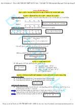 Công thức và bài tập Sinh học ôn thi THPT quốc gia