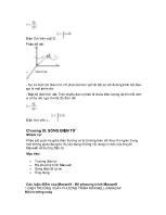 Giáo trình Vật lý đại cương (Phần 2)