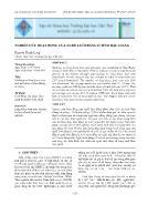 Nghiên cứu hoạt động của nghề lưới đăng ở tỉnh Hậu Giang