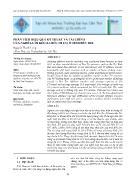 Phân tích hiệu quả kỹ thuật và tài chính của nghề lưới kéo xa bờ (>90 CV) ở tỉnh Bến Tre