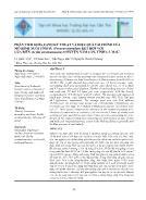 Phân tích khía cạnh kỹ thuật và hiệu quả tài chính của mô hình nuôi tôm sú (penaeus monodon) kết hợp với cua biển (scylla paramamosain) ở huyện Năm Căn, tỉnh Cà Mau