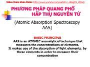 Phƣơng pháp quang phổ hấp thụ nguyên tử