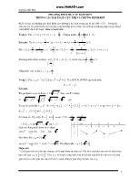 Phương pháp đưa về một biến trong các bài toán cực trị và chứng minh bất đẳng thức