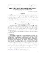 Phương pháp toán tử FK cho dao động tử dạng hố thế đôi với số hạng phi điều hòa bậc sáu hai chiều