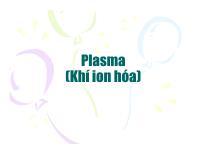 Plasma (Khí ion hóa)