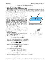Sóng cơ học - Chủ đề III: Gioa thoa sóng cơ
