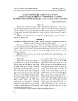 Sử dụng thí nghiệm ghép nối máy vi tính trong dạy học bài định luật III Newton – vật lí 10 nhằm phát huy tính tích cực, tự lực và sáng tạo của học sinh