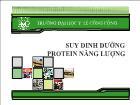 Suy dinh dưỡng protein năng lượng