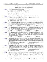 Tài liệu luyện thi Đại học môn Vật lý - Dạng 2: Giao thoa sóng - Sóng dừng