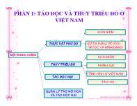 Tảo độc và thủy triều đỏ ở Việt Nam