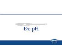 Tìm hiểu Đo pH