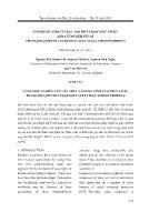 Tổng hợp, nghiên cứu cấu trúc và hoạt tính của phức chất trans-[PtCl2(methyleugenoxyacetate)(2-aminopyridine)]