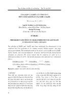Tổng hợp và nghiên cứu tính chất phức chất salixylat của Nd(III) và Sm(III)