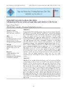 Tổng hợp vật liệu FexMnyOz/TRO trấu với hàm lượng sắt tẩm cao hấp phụ asen trong nước ngầm