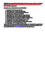 Trích đoạn Tuyển tập 90 đề thi thử đại học, cao đẳng kèm lời giải chi tiết và bình luận-Tập 1