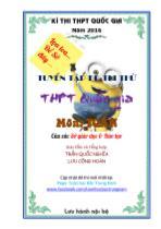 Tuyển tập đề thi thử THPT Quốc gia môn Toán của các Sở giáo dục và Đào tạo