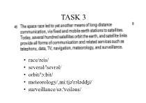 Unit 4 Telecommunications - Week 2
