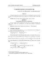 Vài định lí minimax cho hàm đa trị