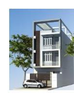 """Bài mẫu Kiến trúc xây dựng - Thiết kế Garage cho nhà """"méo"""""""