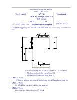 Đề thi môn học Cơ học kết cấu 2