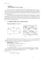 Điện tử công suất 1 - Chương ba: Bộ biến đổi điện áp xoay chiều