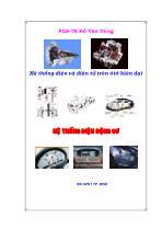 Hệ thống điện và điện tử trên ô tô hiện đại - Hệ thống điện động cơ