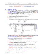 Phân tích ứng xử và thiết kế kết cấu bê tông cốt thép - Chương 8: Mô hình giàn ảo