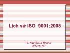 Tìm hiểu Lịch sử ISO 9001 : 2008