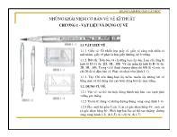 Vẽ kĩ thuật - Những khái niệm cơ bản về vẽ kĩ thuật