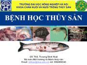 Bệnh học thủy sản - Phần I: Đại cương về thủy sản