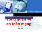 Bài giảng An ninh mạng - Chương 1: Tổng quan về an toàn mạng - Hoàng Sỹ Tường